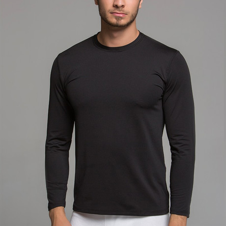 Long Sleeve Shirt II // Black (S)