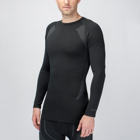 Long Sleeve Shirt I // Black (S-M)