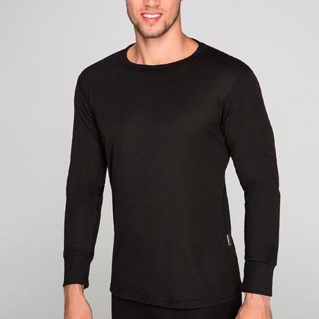 Long Sleeve Undershirt // Black (S)