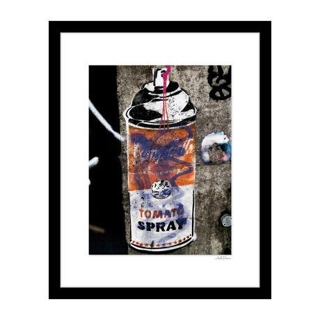 "Tomato Spray Graffiti (14""W x 18""H x 4""D)"