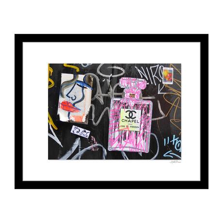 """Chapel Bottle Graffiti (14""""W x 18""""H x 4""""D)"""