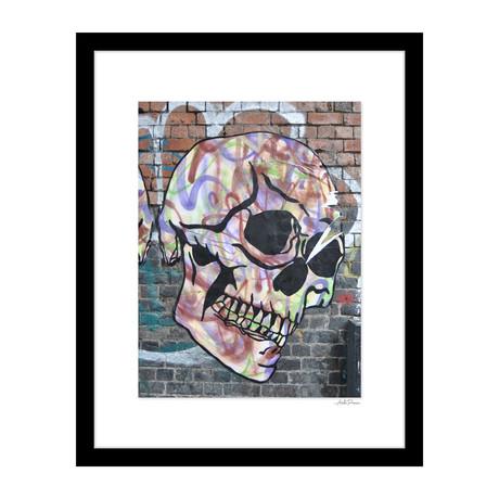 """Skull Graffiti (14""""W x 18""""H x 4""""D)"""