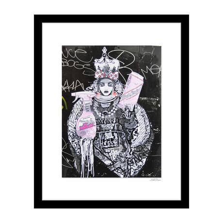 """Goddess of Clean Graffiti (14""""W x 18""""H x 4""""D)"""