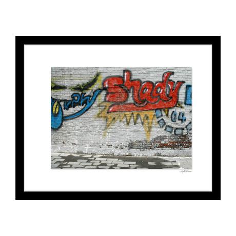 """Shady Graffiti (14""""W x 18""""H x 4""""D)"""