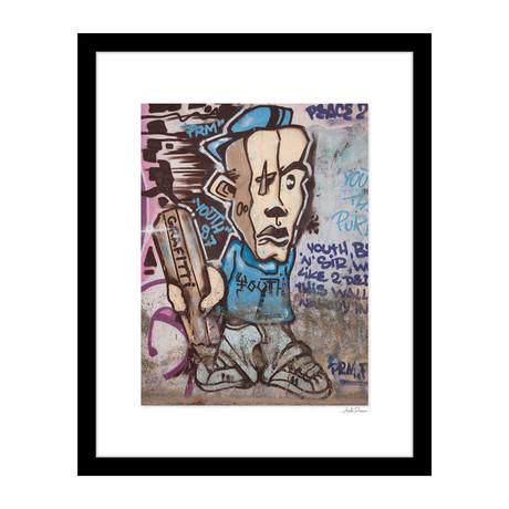 """Youth Graffiti (14""""W x 18""""H x 4""""D)"""