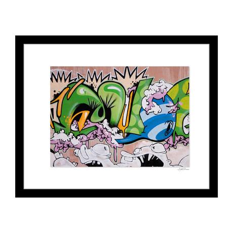"""Tagging Graffiti (14""""W x 18""""H x 4""""D)"""