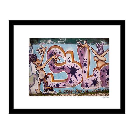 """Exhibitionism Graffiti (14""""W x 18""""H x 4""""D)"""
