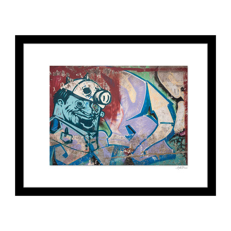 """Crazed Graffiti (14""""W x 18""""H x 4""""D)"""