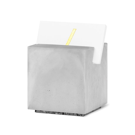 Card Holder (White Cube)
