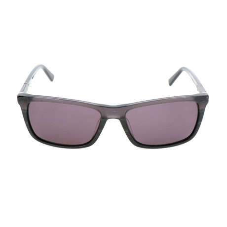 Pierre Cardin Men's Sunglasses // 6170 // Wood Black + Gradient Gray + Dark Gray