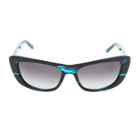 Pierre Cardin Women's Sunglasses // 8442 // Teal Havana