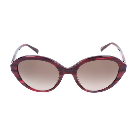 Pierre Cardin Women's Sunglasses // 8455 // Purple + Violet + Red
