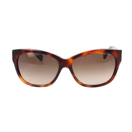 Pierre Cardin Women's Sunglasses // 8371 // Black Light Havana