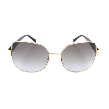 Pierre Cardin Women's Sunglasses // 8819 // Rose Gold + Black