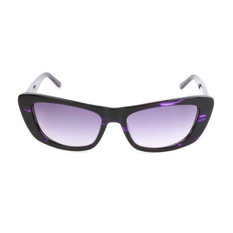 Pierre Cardin Women's Sunglasses // 8442 // Violet Havana