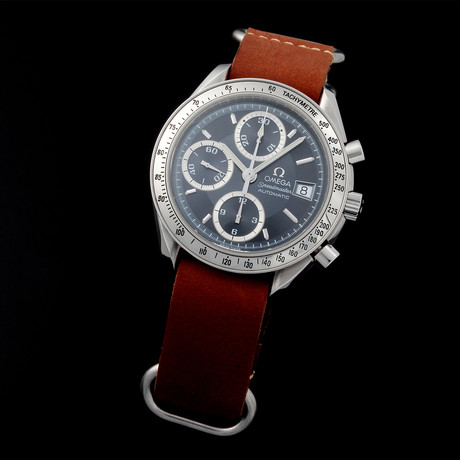 Omega Speedmaster Date Chronograph Automatic // 35134 // Pre-Owned