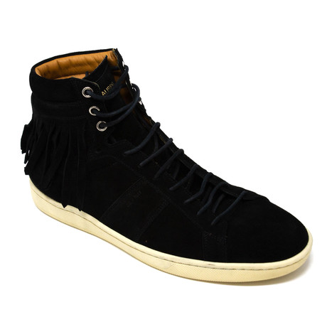 Yves Saint Laurent // Hi-Top Sneakers V2 // Black (Euro: 39)