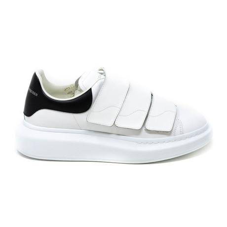 Alexander McQueen // Velcro Sneakers // White (Euro: 39)