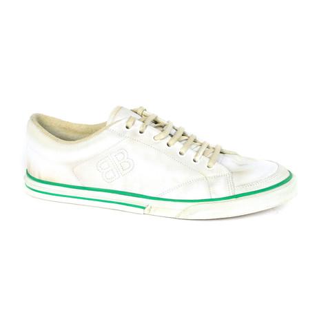 Balenciaga // Distressed Sneakers // White (Euro: 39)