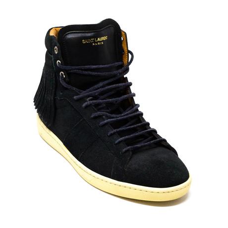 Yves Saint Laurent // Hi-Top Sneakers V1 // Black (Euro: 39)