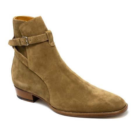 Yves Saint Laurent // Boots // Beige (Euro: 39)