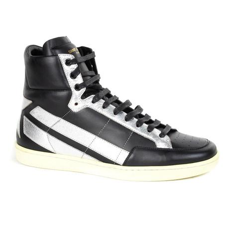 Yves Saint Laurent // Sneakers // Black, Silver (Euro: 39)
