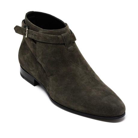 Yves Saint Laurent // Boots // Brown (Euro: 39)
