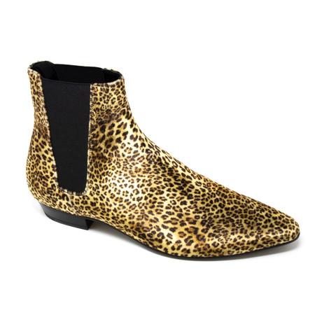 Yves Saint Laurent // Boots // Animal Print (Euro: 39)