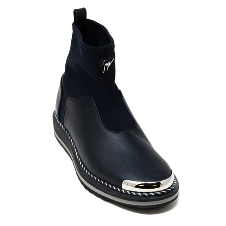 Giuseppe Zanotti // Sock Sneakers // Black (Euro: 39)