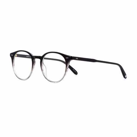 Clune Round Eyeglasses // Gray Transparent