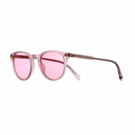 Milwood Round Sunglasses // Pink