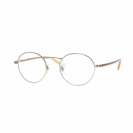 Penmar Round Eyeglasses // Gold Blonde