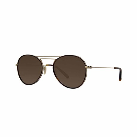 Toledo Sunglasses // Tortoise Gold + Brown