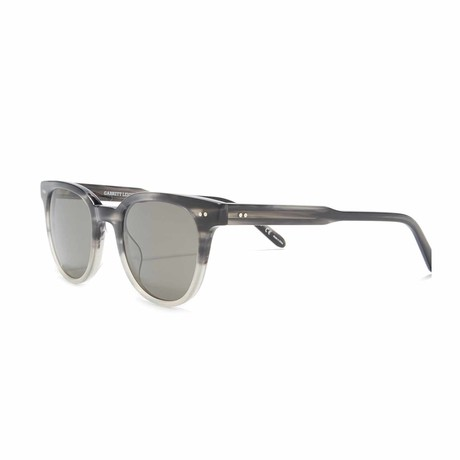 Angelus Round Sunglasses // Charcoal + Gray