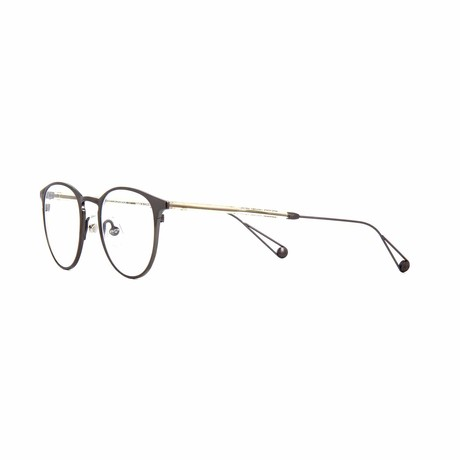 Oxford Round Eyeglasses // Silver