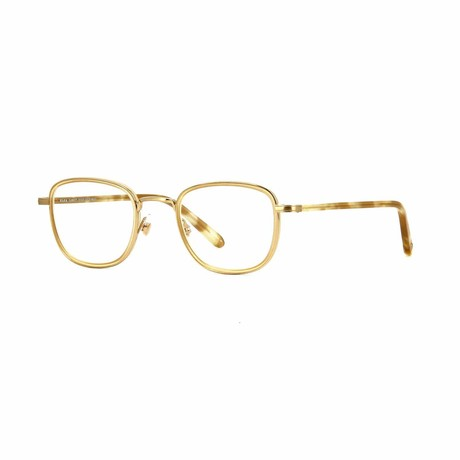 Garfield Rectangular Eyeglasses // Honey Tortoise