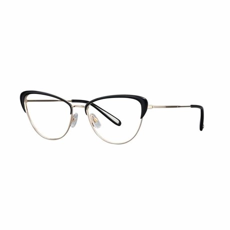 Vista Cateye Eyeglasses // Black Gold