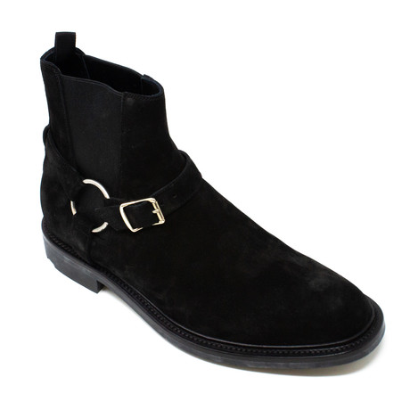 Yves Saint Laurent // Buckle Boots // Black (Euro: 39)