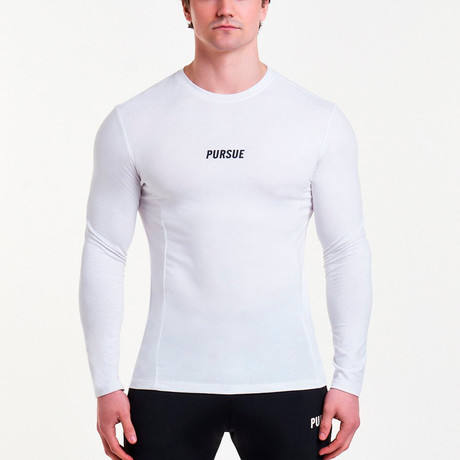 Essential Long Sleeve // White (S)