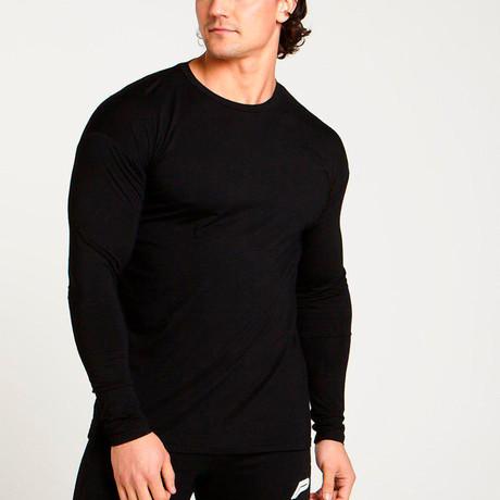 ULTRA Lifestyle Training Long Sleeve T-Shirt // Black (S)