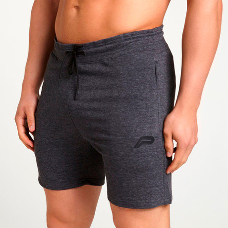 Response Shorts // Heather Charcoal (S)