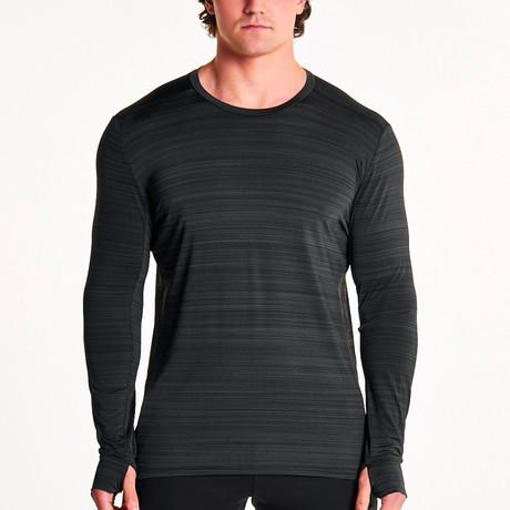 Zephyr Long Sleeve T-Shirt // Gunsmoke Gray (S)