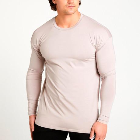 ULTRA Lifestyle Training Long Sleeve T-Shirt // Light Gray (S)