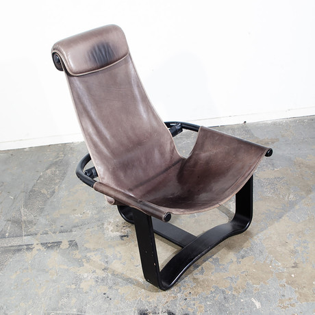 Ingmar Relling for Westnofa // Swedish Modern Sling Lounge Chair