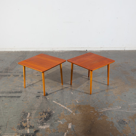 DUX Sweden // Swedish Modern Side Table // Set of 2
