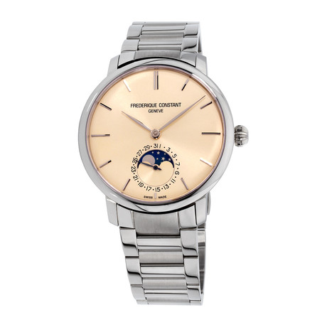 Frederique Constant Slimline Moonphase Automatic // FC-705S4S6B2