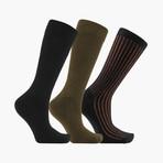 Luxe Crew Socks // 3 Pack