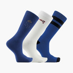 Pleasant Storm Crew Socks // 3 pack