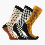 Goemann Crew Socks // 3 Pack