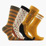 JG Penny Crew + Ankle Socks // 4 Pack